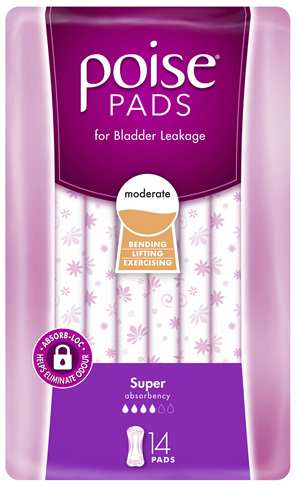 Poise Pads Super 14 Pack