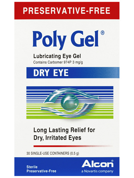 Poly Gel Lubricating Eye Gel 30 x 0.5g