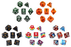 Polyhedral Dice Sets