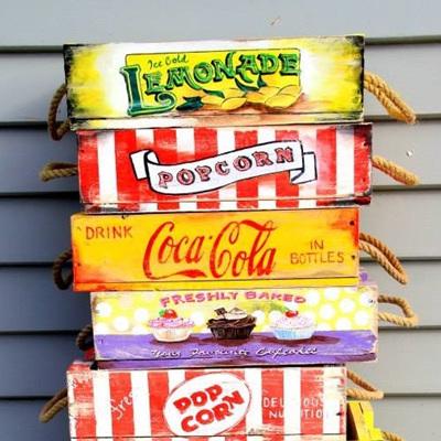 Popcorn Scroll Crate
