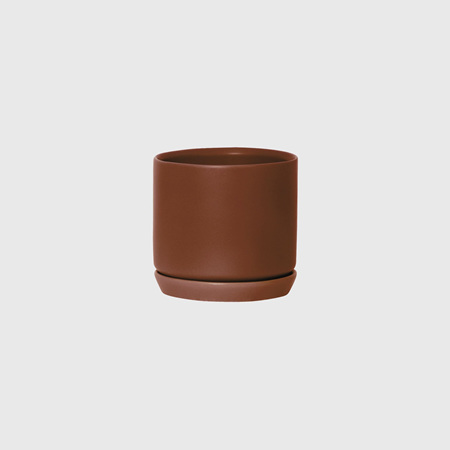 Potted Medium Oslo Planter Brick