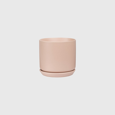 Potted Medium Oslo Planter Peach