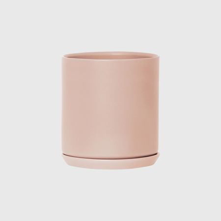 Potted XL Oslo Planter Peach