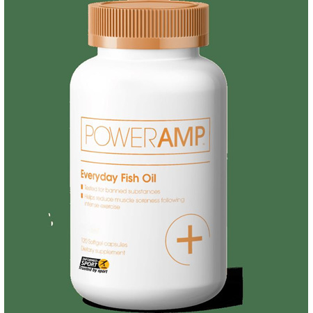 Poweramp Everyday Fish Oil 120 capsules