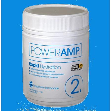Poweramp Rapid Hydration (Raspberry Lemonade) 400g