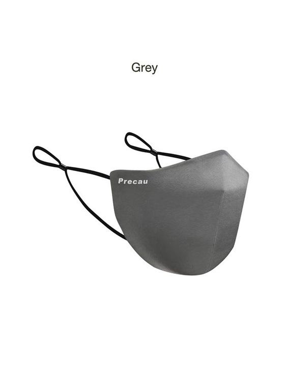 Precau Muse Re-usable face mask Grey