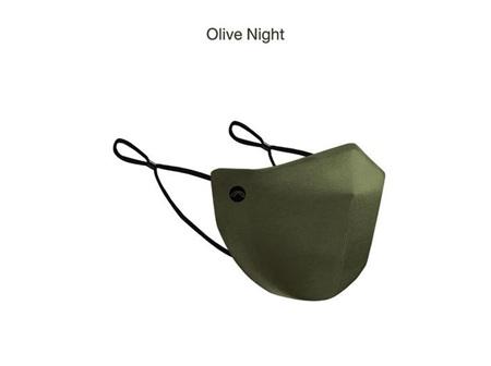 Precau Muse Re-usable face mask Olive Night