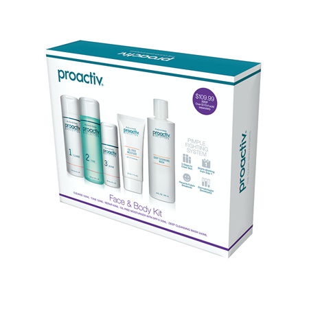 Proactiv Face and Body Kit
