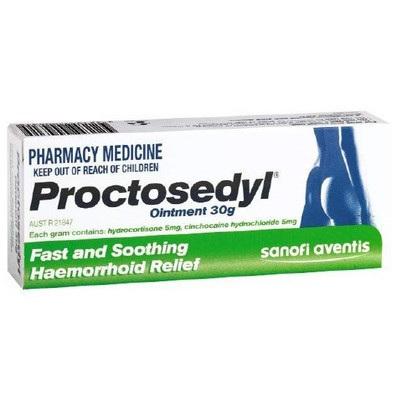 Proctosedyl Oint 30gm