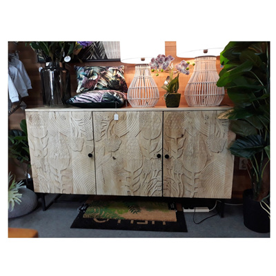 Protea Carved Sideboard