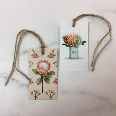 Protea Gift Tags