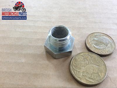 "PTA3814 Petrol Tap Adaptor - Steel 3/8"" BSP to 1/4"" BSP"