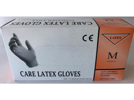 PTI LATEX GLOVE MED EACH