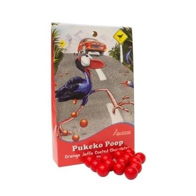 Pukeko Poop - Jaffa Coated Chocolates