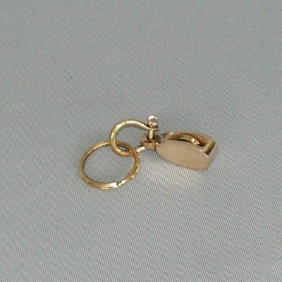 Pulley Key Ring