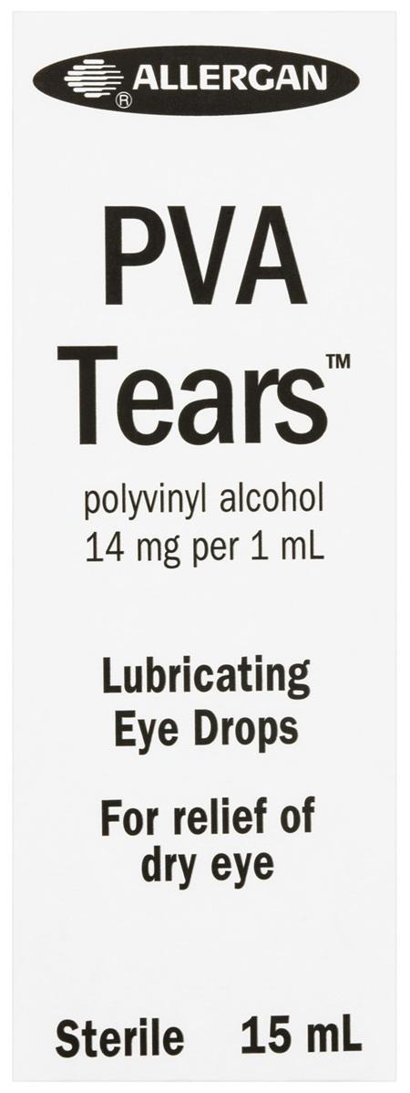 PVA Tears Lubricating Eye Drops 15mL