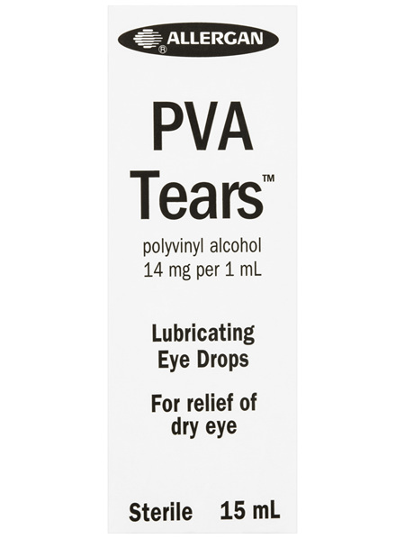 PVA Tears Lubricating Eye Drops 15mL