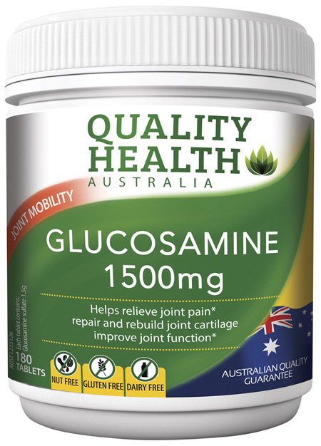 Quality Health Glucosamine 1500mg 180s