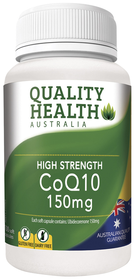 Quality Health High Strength CoQ10 100s