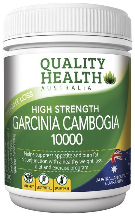 Quality Health High Strength Garcinia Cambogia 10000
