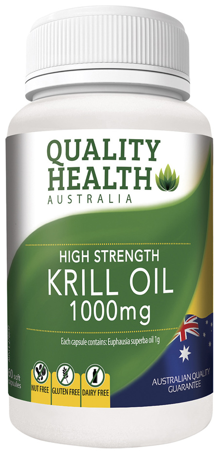 Quality Health High Strength Krill Oil 1000mg 60s