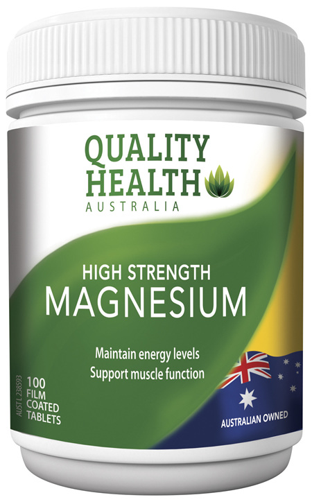Quality Health High Strength Magnesium 100s