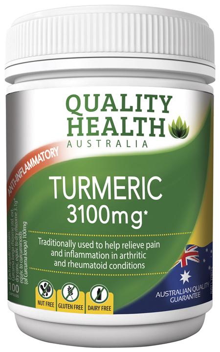 Quality Health Turmeric 3100mg with BioPerin