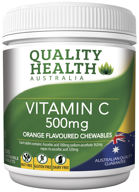 Quality Health Vitamin C 500mg 200s