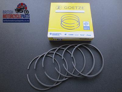 R11050 Triumph 650cc T120 TR6 Piston Ring Set - 99-3784