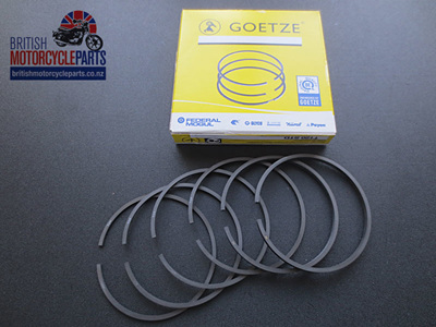 R11050 Triumph 650cc T120 TR6 Piston Ring Set - 99-3784