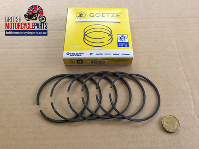 R13570 Triumph 500cc Piston Ring Set - T100 5TA
