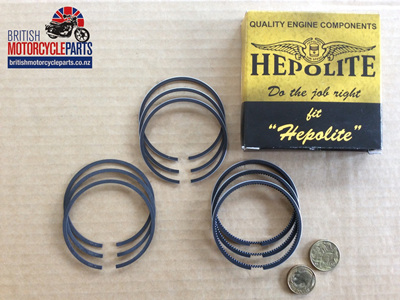 R23020 Triumph Trident T150, T160 & BSA A75 Piston Ring Sets