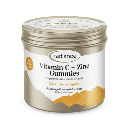 RADIANCE Adult Vitamin C & Zinc Gummies 60