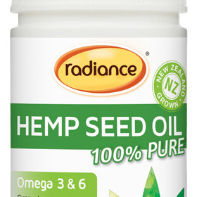 Radiance Hemp Seed Oil 90 caps