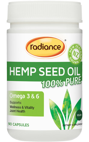 Radiance Hemp Seed Oil 90 caps