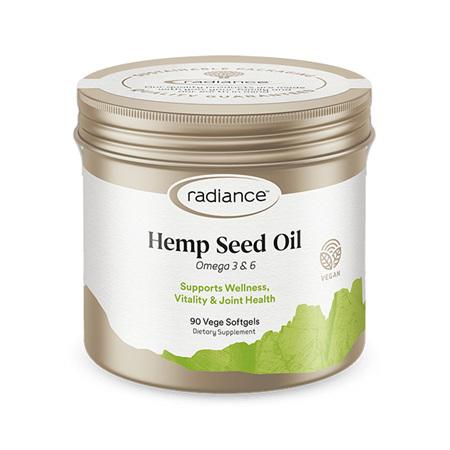 RADIANCE Hemp Seed Oil 90Caps