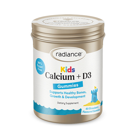 RADIANCE Kids Calcium +D3 Gummies 60