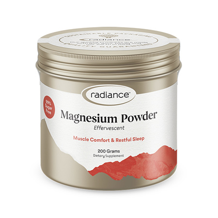 RADIANCE Magnesium Effervescent Powder 200g