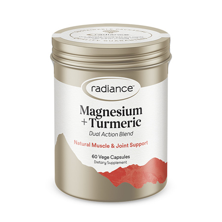 RADIANCE Magnesium & Turmeric 60cap
