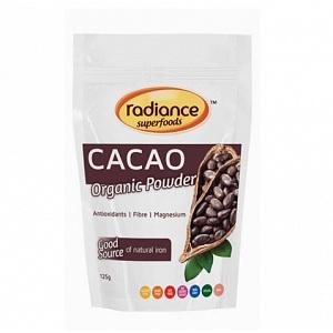 RADIANCE Organic Cacao Powder 125g