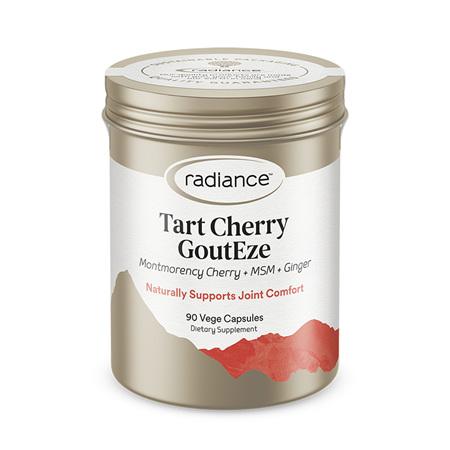 RADIANCE Tart Cherry GoutEze 90vcap