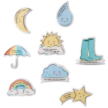 Rain, Hail or Shine Magnets