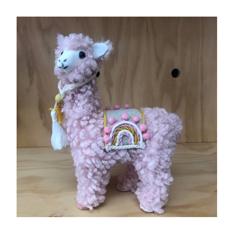 Rainbow Llama Peach