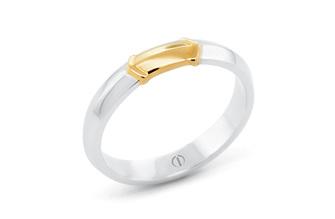 RAIZE DELICATE MENS WEDDING RING