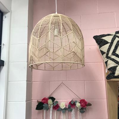 Rattan Pendant Lamp - Natural