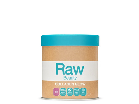 Raw Collagen Glow 5000 Wild Berry 200g