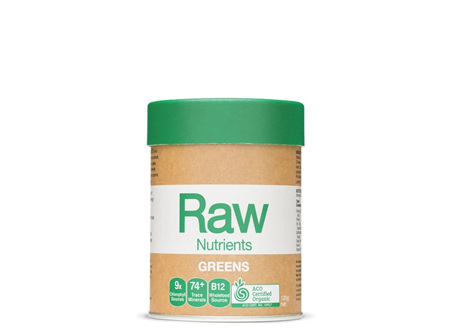 Raw Nutrients Prebiotic Greens 120g