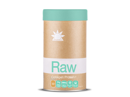 Raw Protein Collagen Plus Vanilla Maple 500g