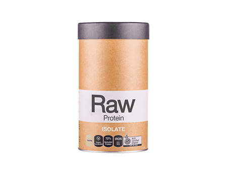 Raw Protein Isolate Vanilla 500g