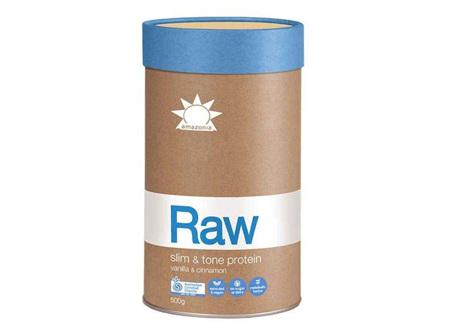 Raw Slim & Tone Protein  Vanilla Cinnamon 500g